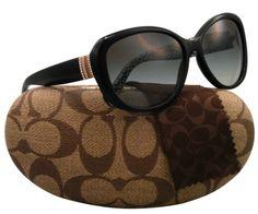 c2a38f6bac Coach L030 Keri Sunglasses HC8040B 508311 Black Grey Gradient 58 15 135