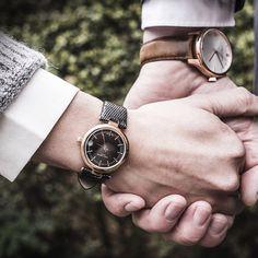 Romatyczne spacery z #LarsLarsen. #watch #zegarek #date #couple #love #butikiswiss #dlaniej #dlaniego