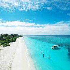 The Maldives Island - Six Senses Laamu. Wonderful, Peaceful, Relaxing Blue. I Love it!