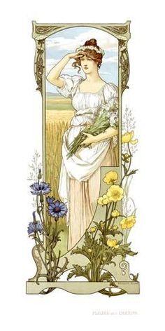Giclee Print: Elisabeth Sonrel Wall Art by Elisabeth Sonrel : 36x18in