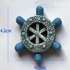 B1019 mediterrane stijl schip cirkel siliconen mold Cake decoratie tool cakevorm…