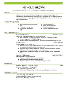 Best Resumes Stunning Resumes The Best Resume Template Free Sample And Job Description