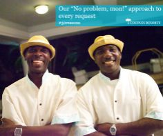 "Our ""No problem Mon!"" approach to every request #couplesresorts #jamaica c.oupl.es/1g5FFze"