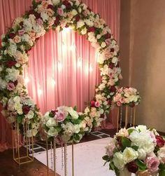 Wedding Backdrop Design, Wedding Stage Design, Wedding Hall Decorations, Flower Decorations, Arch Decoration, Decoration Party, Wedding Ceremony Backdrop, Wedding Wall, Luxury Wedding Decor