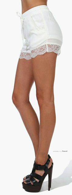 Shorts, but wouldn't wear with heals