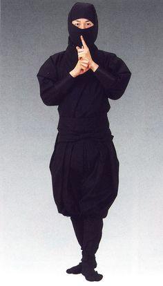 Ninja costume, Shinobi Shouzoku, Ninja, Shinobinomono - Click Image to Close