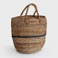 This handwoven tote is perfect to take to the farmer's market on a sunny day. Shop Bamboula on DARA Artisans, a sophisticated marketplace for handmade crafts.