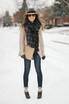 27 Cute Winter Street Style Outfits