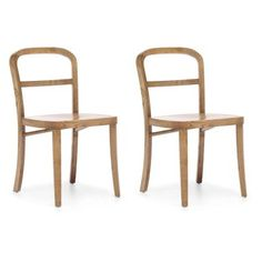 Check out this item at One Kings Lane! Natural Fillmore Chairs, Pair