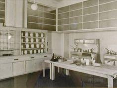 Original Kitchen at Eltham Palace.
