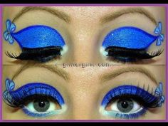 Alice in Wonderland Makeup tutorial!  #eyeshadow