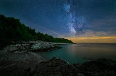 kap kamenjak at night by Christian Sch. on 500px