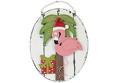 Display your holiday spirit with Brighten the Season home accents, wall plaque.
