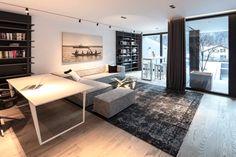 Interior Design Inspiration, Dining Bench, Gabriel, Architecture, Interior Architects, Furniture, Home Decor, Kitchen Black, Detached House