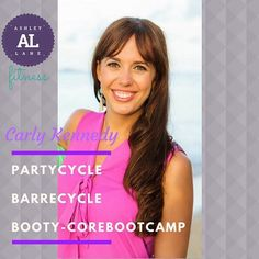 Fall in love with Carly! She choreographs her classes to the beat of the music while making it fun energetic and challenging. #spin #barre #booty-core bootcamp #instructorspotlight