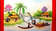 Drawing Scenery, Lai Guanlin, Elementary Art, Fanart, Paintings, Landscape, World, Tattoos, Drawings