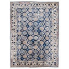 Antique Caucasian Rug   From a unique collection of antique and modern russian and scandinavian rugs at https://www.1stdibs.com/furniture/rugs-carpets/russian-scandinavian-rugs/
