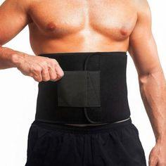 Waist Trimmer Exercise Wrap Belt Burn Fat Sweat Weight Loss Body Shaper Slim TS Big Muscle Training, Waist Training, Sweat Belt, Trimmer For Men, Thin Waist, Wraps, Waist Trainer Corset, Waist Workout, Slim Body