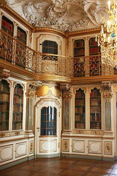 Beautiful Libraries...Library of Christiansborg Palace in Copenhagen, Denmark, photo by taltraveltips via Flickr - Musetouch Visual Arts Magazine Facebook
