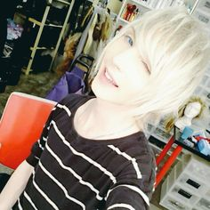 YOHIO winking is the best thing I've seen today