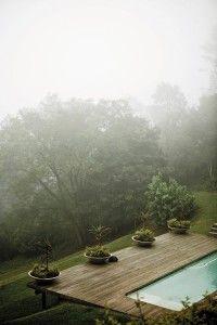 casa de campo neblina