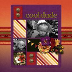 Cool Dude - Scrapbook.com