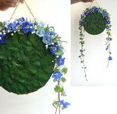 torebka z kwiatów