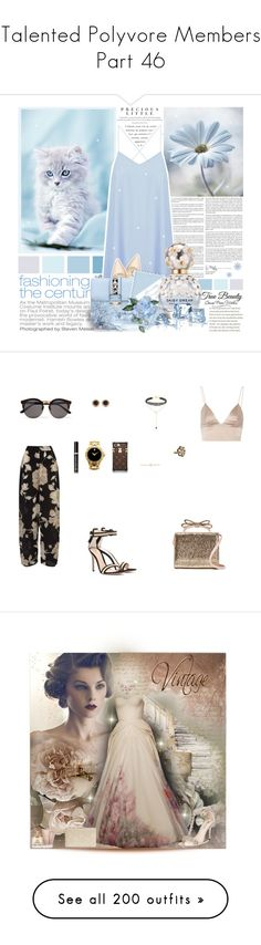 """❤Talented Polyvore Members❤ Part 46"" by l33l ❤ liked on Polyvore featuring Agent Provocateur, Glamorous, Nine West, Valentino, WALL, Marc Jacobs, EAST, T By Alexander Wang, Gianvito Rossi and RED Valentino"