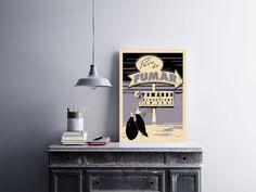 """Placa decorativa """"Pare de Fumar Fumando. Alcoolismo Tem Cura""""  Temos quadros com moldura e vidro protetor e placas decorativas em MDF.  Visite nossa loja e conheça nossos diversos modelos.  Loja virtual: www.arteemposter.com.br  Facebook: fb.com/arteemposter  Instagram: instagram.com/rogergon1975  #placa #adesivo #poster #quadro #vidro #parede #moldura"""