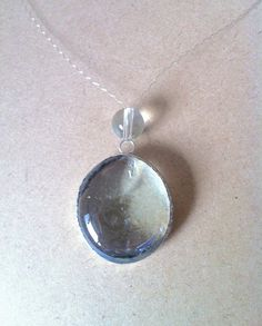 Clear Stained Glass Pendant on Invisible by G2B5PrimitivePeople