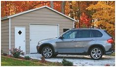 Find practical metal garages at AlansFactoryOutlet.com