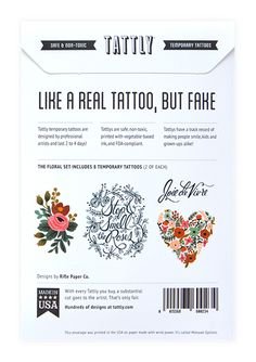 Tattly by Rifle Paper Co.