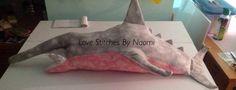 Finished stuffed goblin shark