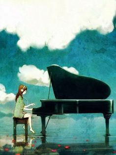 Images of Pin Paintings Piano Wallpaper - #SC