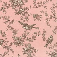 P. Kaufmann Central Park Toile Blush Fabric #pink | Ticking ... : toile quilting fabric - Adamdwight.com