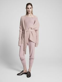 ATM Anthony Thomas Melillo Pre-Fall 2017 Fashion Show Collection Fashion D, Knit Fashion, High Fashion, Autumn Fashion, Corporate Wear, Relaxed Outfit, Anthony Thomas, Fashion Show Collection, Look Cool