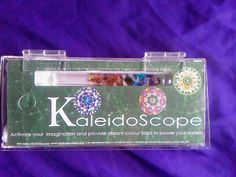 double perspex box with three glass wands and scope inside Box Sets, Food Coloring, Wands, Vibrant Colors, Coin Purse, Therapy, Crystals, Glass, Vivid Colors