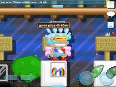 My growtopia rainbow wings awesome :)