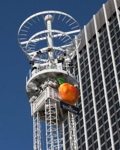 New York has the apple drop on New Year's Eve; Atlanta has the PEACH DROP.