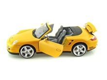Motor Max 1/18 Scale Porsche 911 Turbo Cabriolet Convertible Yellow Diecast Car Model 73183 www.DiecastAutoWorld.com 2312 W. Magnolia Blvd., Burbank, CA 91506 818-355-5744 AUTOart Bburago Movie Cars First Gear GMP ACME Greenlight Collectibles Highway 61 Die-Cast Jada Toys Kyosho M2 Machines Maisto Mattel Hot Wheels Minichamps Motor City Classics Motor Max Motorcycles New Ray Norev Norscot Planes Helicopters Police and Fire Semi Trucks Shelby Collectibles Sun Star Welly