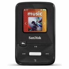 Amazon.com: SanDisk Sansa Clip Zip 4GB MP3 Player SDMX22-004G-A57K (Black) - Manufacturer Refurbished: MP3 Players & Accessories