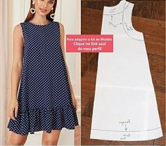 T Shirt Sewing Pattern, Dress Sewing Patterns, Make Your Own Clothes, Vestido Casual, Plus Size Bikini, Dressmaking, Summer Dresses, Knitting, Photos