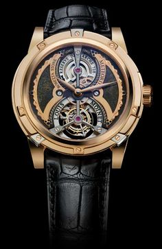 Meteoris by Louis Moinet are amongst world's most expensive watches. Asteroids and meteorites from the Moon and Mars included. ~$4,600,000 USD