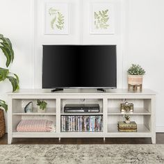 "Sunbury 70"" TV Stand with optional Fireplace"