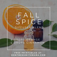 10 Fall Essential Oil Diffuser Recipes - check out these easy fall scents you… Essential Oil Combos, Fall Essential Oils, Essential Oil Diffuser Blends, Aromatherapy Diffuser, Fall Scents, Diffuser Recipes, Young Living, Scented Candles, Easy