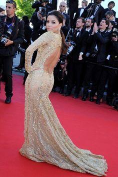 The shiny Eva Longoria