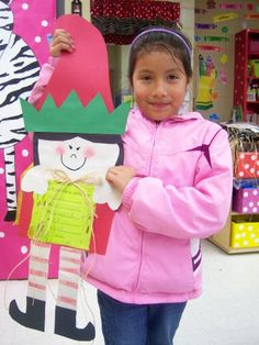 Cute Elves! Like this idea to have kids practice making lists (Christmas Lists) in the Writing Station during Christmastime