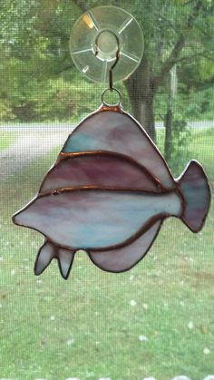 Check out this item in my Etsy shop https://www.etsy.com/listing/468911740/tropical-fish-stained-glass-mix-blue-and