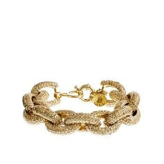 JCrew pave bracelet