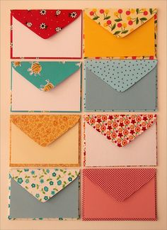 Novas estampas de envelope by Zoopress studio, via Flickr